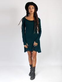 """Ysïaa\"" long sleeve dress, Dark Teal"
