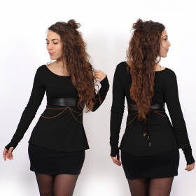 """Ysïaa\"" long sleeves top, Black"