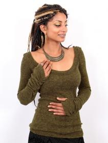 "\""Ysïs\"" pullover, Army green"