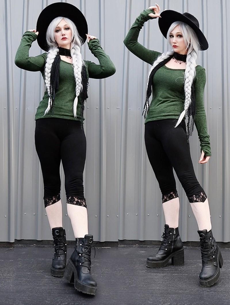"\""Ysïs\"" pullover, Forest green"