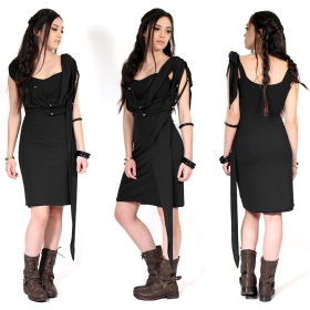 """Yükäa\"" short dress, Black"