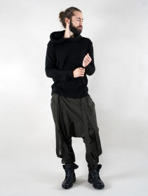 "\""Zahid\"" harem joggerz, Charcoal grey"