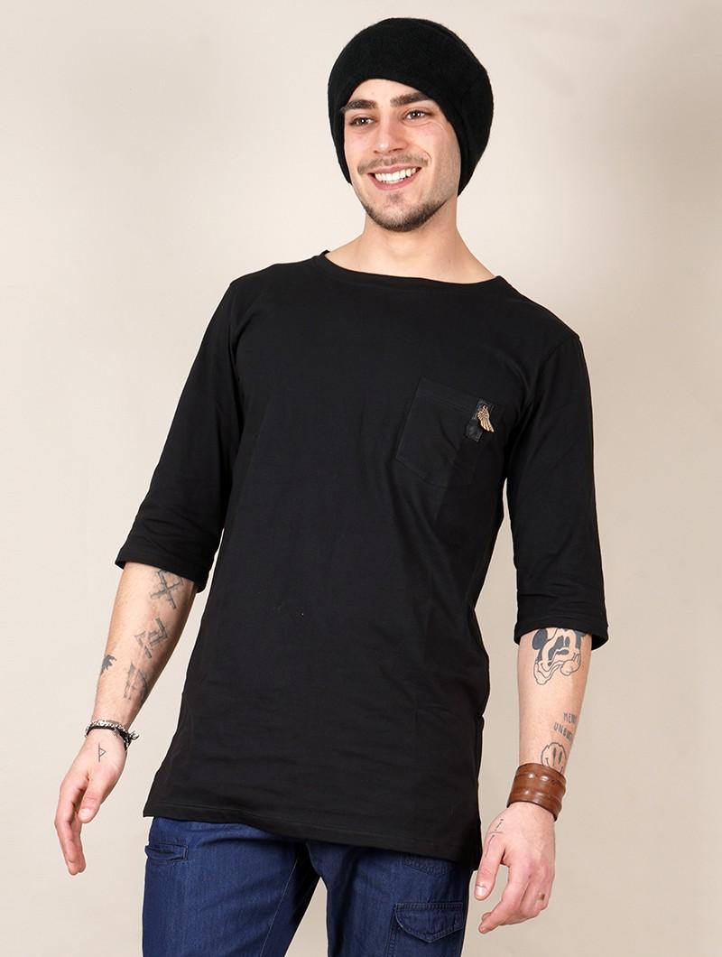 "\""Zeus\"" t-shirt, Black"