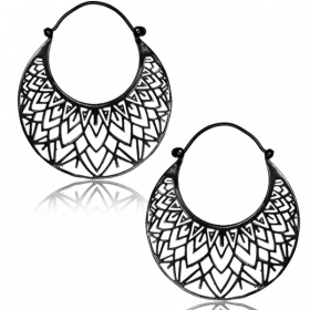 """Zouhra Kaala\"" earrings"